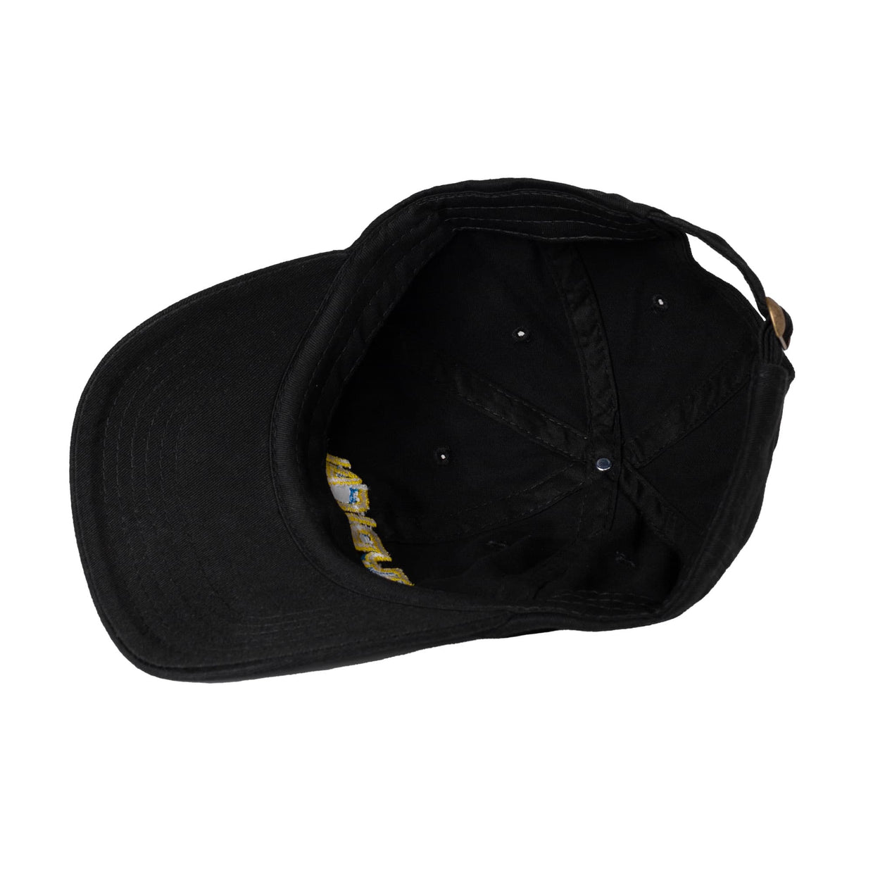 Typical 'Warp' Dad Hat - Black