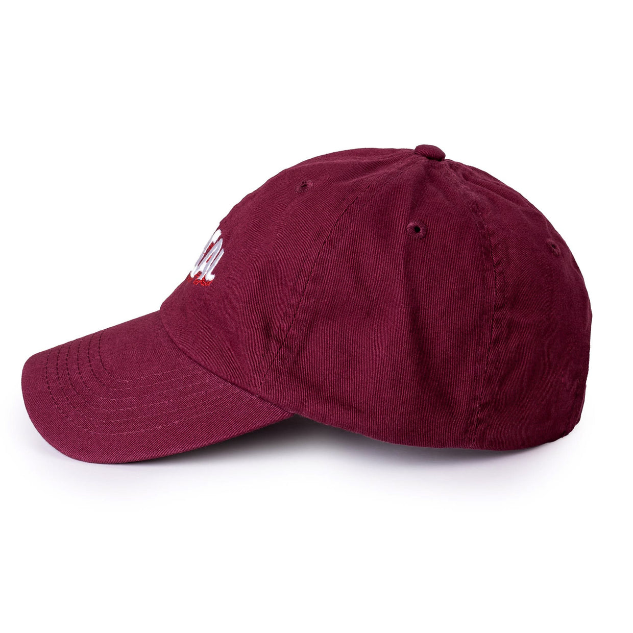 Typical 'Warp' Dad Hat - Maroon