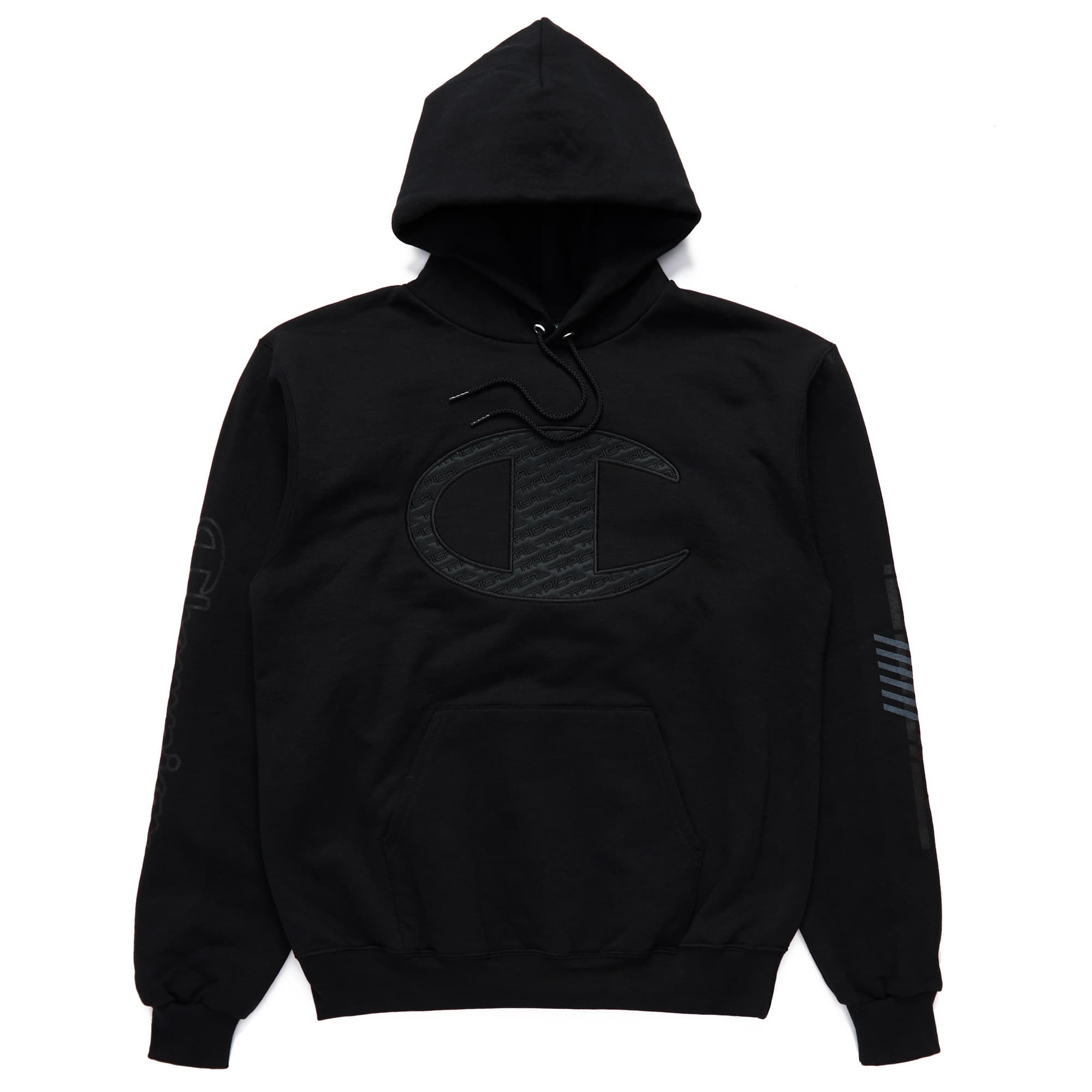 Typical Limited Edition Champion Hoodie - Black