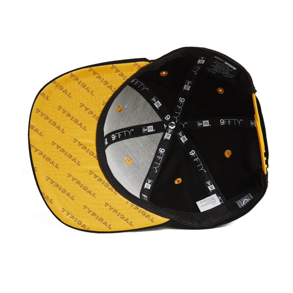 Typical x New Era 9Fifty Original Fit Snapback // Black + Gold
