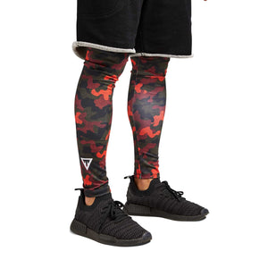 'Redemption' Unisex Camo Tights