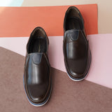 Semi-formal slip on shoes