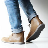 Men's Mid Top Suede Boots