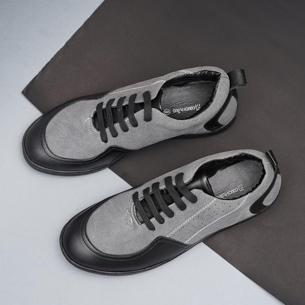 Couch Potato Sneakers With Side Detailing - Grey