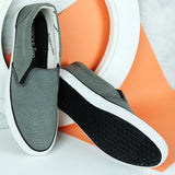 Couch Potato Basic Slip Ons - Grey