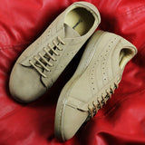 Couch Potato Perforated Sneakers : Beige