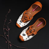 Women Printed Tie Up Juttis