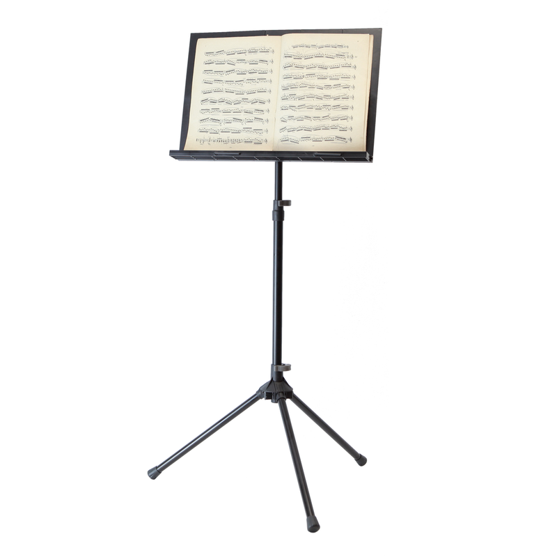 Collapsible Music Stand - Peak SMS40 Standard Height Aluminium Base
