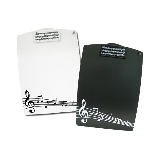 Clip Board - Black or white with Manuscript