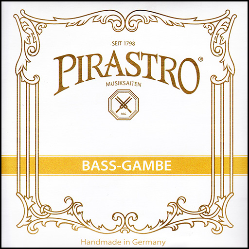 Pirastro Bass Gamba - A7 Gut/Silver 39