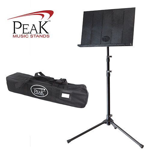 Collapsible Music Stand - Peak SMS30 Tall Height Steel Base