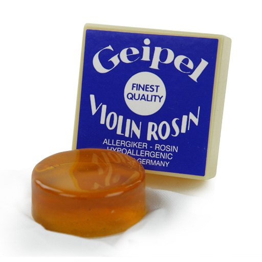 Violin/Viola Rosin - Geipel Hypo-Allergenic Synthetic Rosin