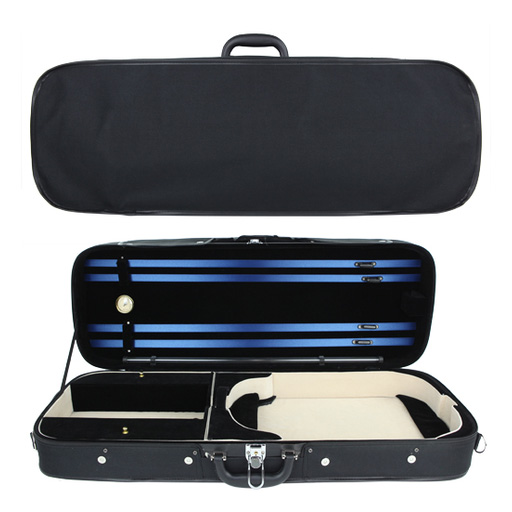 SSC Adjustable Oblong Viola Case Black/Blue-Green