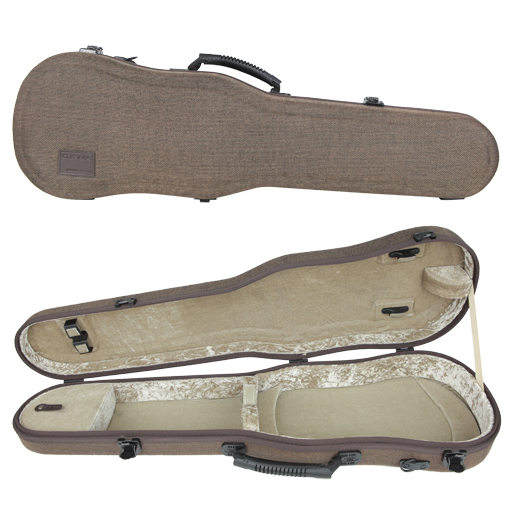 GEWA Bio-S Shaped Violin Case Brown/Beige