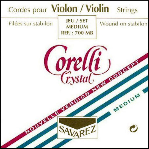 Corelli Crystal Violin Strings