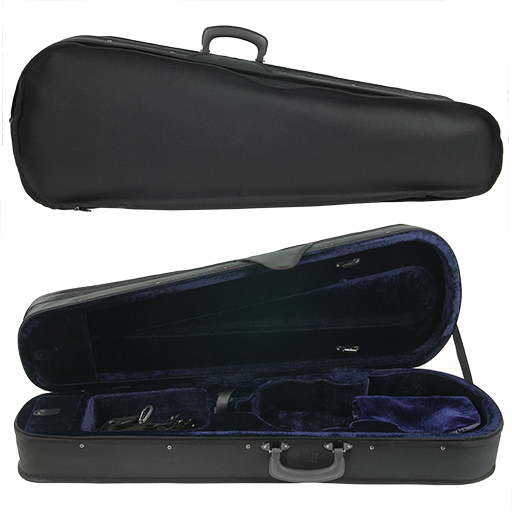 SSC Shaped Lightweight Viola Case Black/Blue