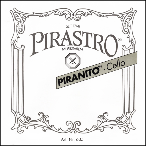 Pirastro Piranito Cello Strings