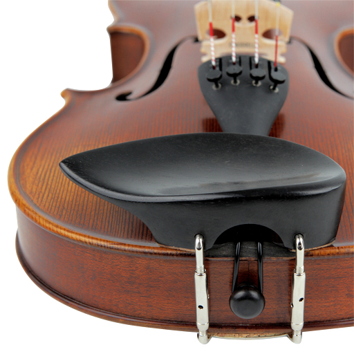 Violin Chinrest - Wilfer Schmidt Ebony (Over T/P)