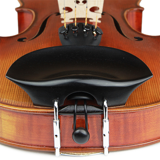 V.A. Old Flesch Violin Chinrest Ebony