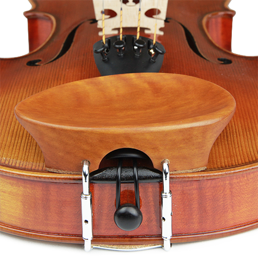V.A. New Flesch Violin Chinrest Boxwood