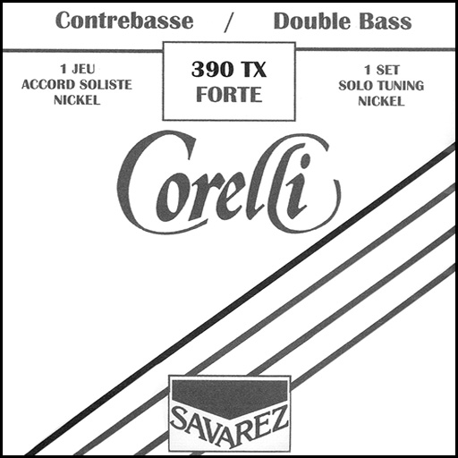 Corelli Solo Nickel Double Bass Strings