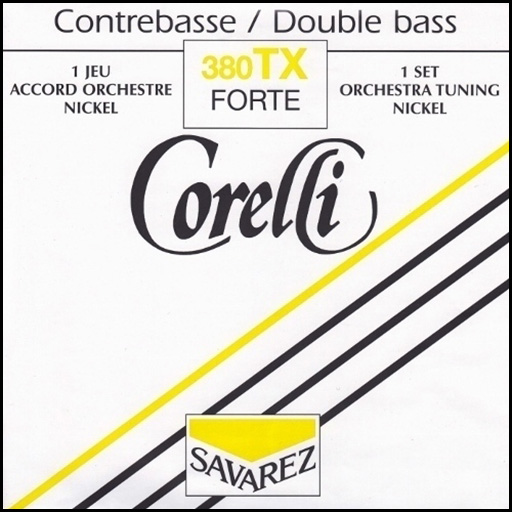 Corelli Orchestra Nickel Double Bass Strings