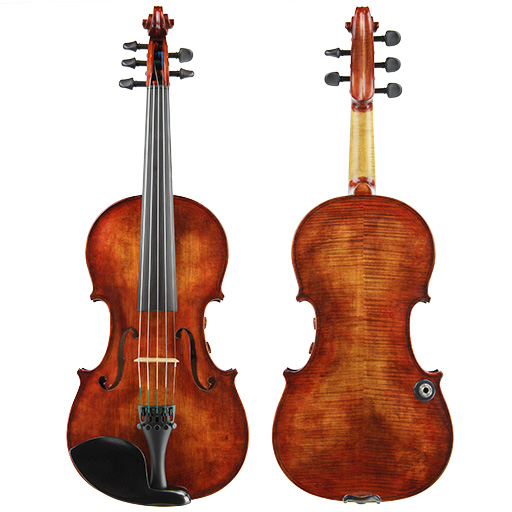 Electric-Acoustic Violin - Realist Violin Pro E-Series Frantique Finish 5 String with Wittner Pegs