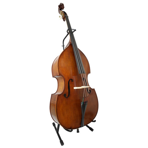 Cello and Double Bass Stand with Bow Holder