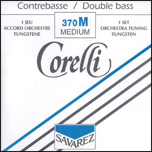Corelli Orchestra Tungsten Double Bass Strings