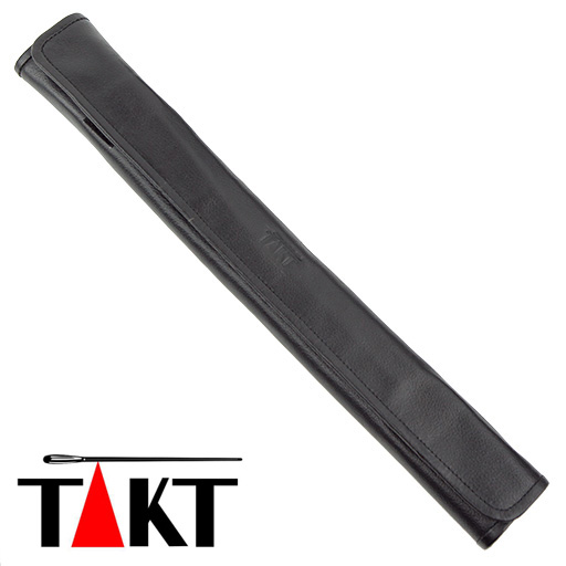 Baton Case - Takt Black Leather Wrap Around