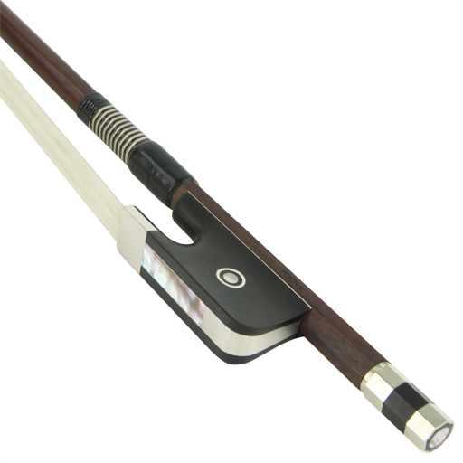 Knoll Nickel Mounted French Style Double Bass Bow