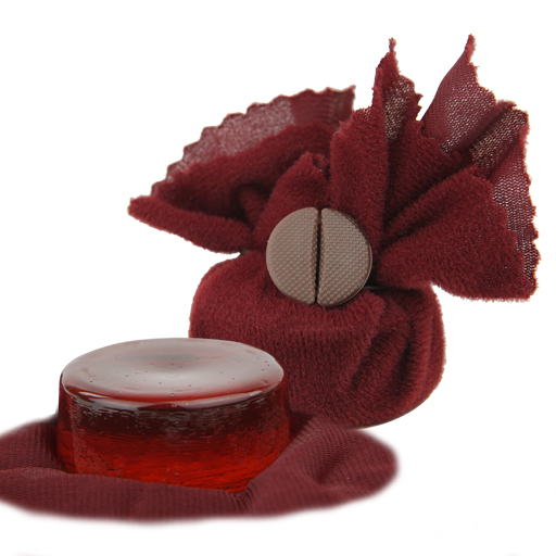Violin/Viola/Cello Rosin - Geipel 100 Light Amber in Maroon Cloth