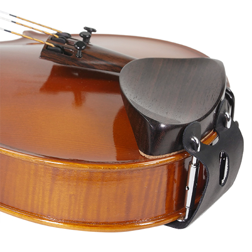 Violin Chinrest Leather Clamp Cover - Colour Varies