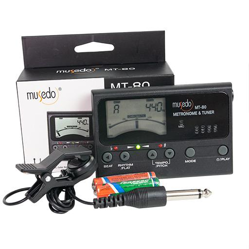 Musedo MT80 3 In 1 Chromatic Metronome Tuner