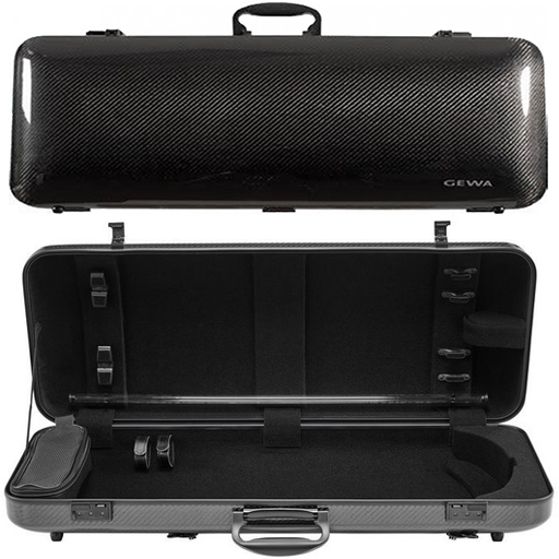 GEWA Idea Oblong 2.6 Viola Case Black Carbon