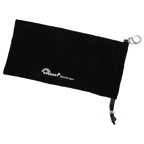 Everest Shoulder Rest Pouch Black