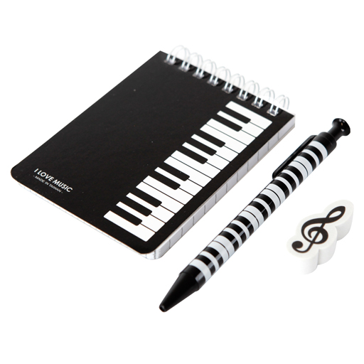 100K STATIONERY KIT/SET NOTEBOOK WITH PENCIL ERASER KEYBOARD