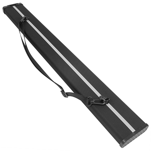 Double Bass Bow Case - Kreisler For German Bow Black Aluminium