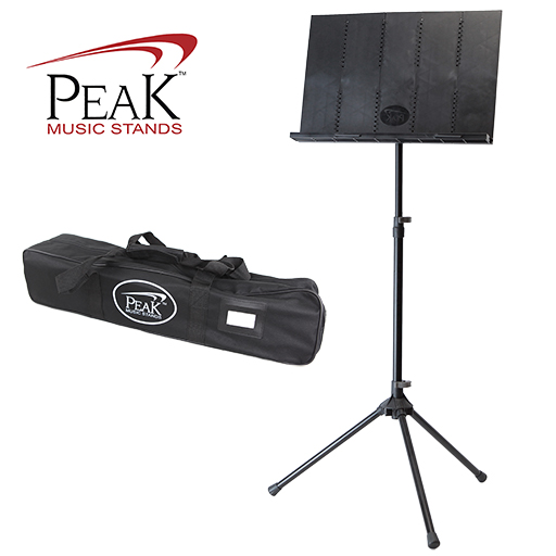 Collapsible Music Stand - Peak SMS50 Tall Height Aluminum Base