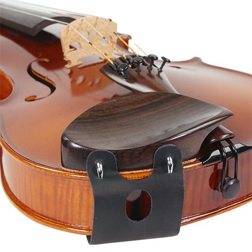 Mach One Leather Violin Chinrest Clamp Cover