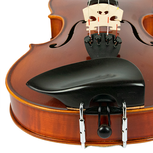 Violin Chinrest - Wilfer Tekka Ebony (Over T/P)