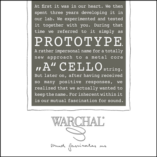 Warchal Prototype A Cello - Special Order Only