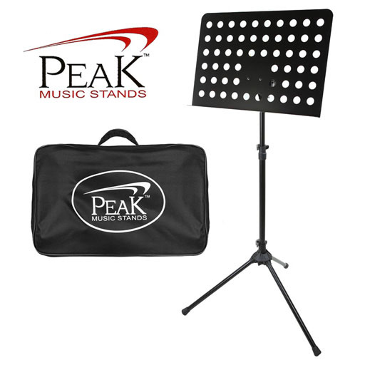 Music Stand - Peak SMS22 Solid Desk with Holes