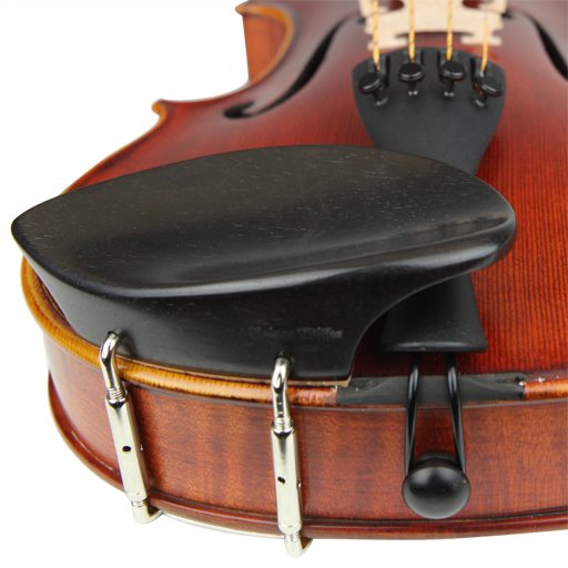 Violin Chinrest - Wilfer Schmidt Ebony (Beside T/P)