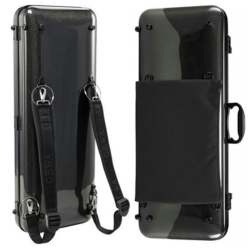 Viola Case - Gewa Idea 2.6 Oblong Black Carbon - Special Order Only