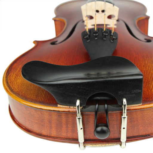 Violin Chinrest - Wilfer Berber Ebony (Over T/P)