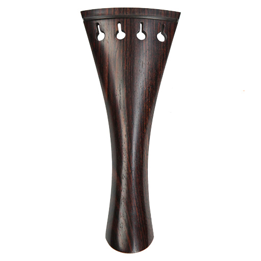 V.A. French Violin Tailpiece Rosewood with Ebony Trim