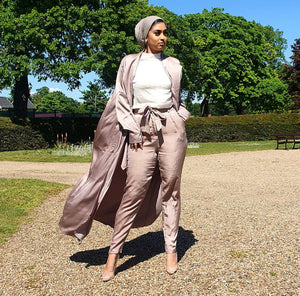 Muted Gold Longline Trench