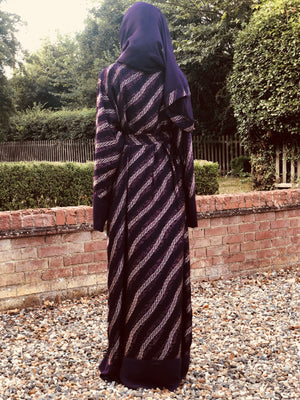Luxury Abaya with a modern twist. Modest Fashion.