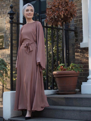 Wrap dress Abaya. Modern Abaya. Modest Fashion.